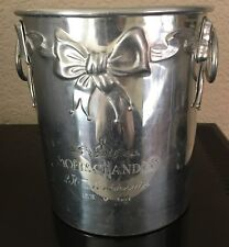 MOET CHANDON RIBBONS AND BOWS  CHAMPAGNE COOLER  VERY RARE ITEM 1993  USED