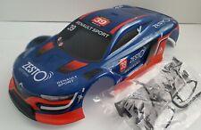 1/10 RC car 200mm on road drift Renault Body Shell Blue