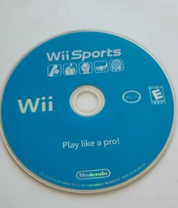 Wii Sports (Nintendo Wii, 2006) Disc Only- Tested & Works