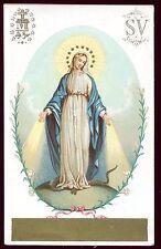 image pieuse santini holy card canivet L'Immaculée Conception . chromo