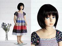 Child mannequin girl, 4~5 years old, hand made fiberglass fullbody manikin-Molly