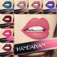 HANDAIYAN Frauen Lippenstift wasserdichte Matte Flüssiges Lip Glaze Lip Glo T4Y3