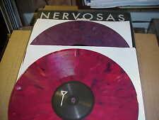 LP:  NERVOSAS - self titled s/t  2xLP NEW UNPLAYED COLORED VINYL ETECHED PUNK