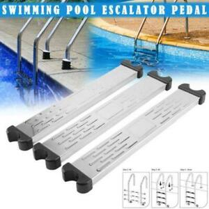 Stainless Steel Pool Pedal Replacement Stair Step Steps Anti Slip Accessories