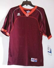 RUSSELL ATHLETIC Youth L VIRGINIA TECH VT HOKIES NEW FOOTBALL JERSEY NWT No #