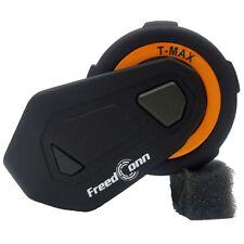Freedconn T - Max 1500m 6 Pilotes Casque Moto Casque Interphone Bluetooth Fm