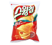 Korean Snack Orion Swingchip BOKEUMGOCHUJANG Taste 60g Hot Pepper Paste Potato
