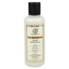 Khadi Natural Shikakai & Honey Hair Conditioner- SLS & Paraben Free  210ml Free