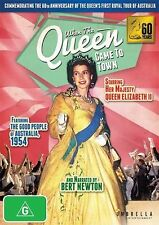 When The Queen Came To Town (DVD) REGION FREE - BRAND NEW SEALED - FREE POST!