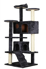 """New 55"""" Cat Tree Tower Condo Furniture Scratching Post Pet Kitty Play House"""