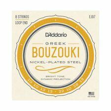 GREEK BOUZOUKI STRINGS - D'ADDARIO EJ97 - 8 STRINGS - LOOP END