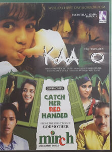 KAALO + Mirch DVD Catch Her Red Handed - 2 Indian Hindi Indian BOLLYWOOD Movie