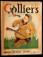 "Collier's Magazine October 29 1938 FOOTBALL - PENSIONS - RIFLE ""BERTHA"" - HEALTH"