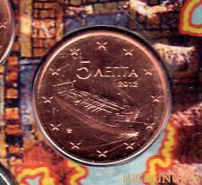 Grèce 2012 - 5 Centimes d'euro 20 000 exemplaires Provenant du coffret BU RARE -