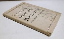 SONNETS FROM THE PORTUGUESE and Other Love Poems HC/DJ 1954 E. Browning Book - O