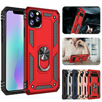 For Samsung Galaxy A51 Case / A51 5G Metal Ring Kickstand Shockproof Phone Cover