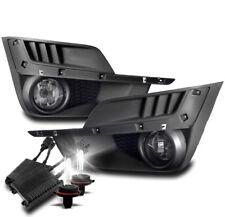 15-16 SUBARU IMPREZA BUMPER DRIVING FOG LIGHT LAMP CHROME W/50W 8000K HID+SWITCH