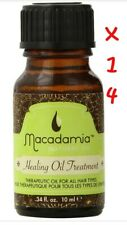 Macadamia Healing Oil Treatment 14 Travel size Bottles 0.34 oz more than 4.2oz
