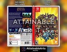 Shovel Knight: Game Case/Custom Cover (Nintendo Switch, 2017) - NO GAME INCL