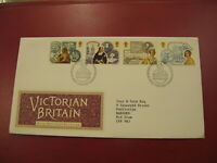 1987 GB First Day cover / FDC - Queen Victoria / Victorian Britain