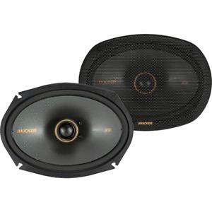 Kicker 47KSC6904 Car Audio 6 by 9 Inch Coaxial 600W Full Range Speakers (Pair)