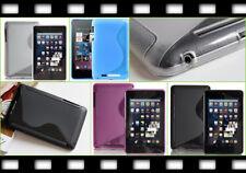 Silikon Tasche Case TPU Etui Cover ASUS Google Nexus 7 Tab Bumper Schutz Hülle