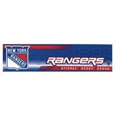 New York Rangers Bumper Sticker