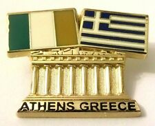 Pin Spilla Olimpiadi Athens 2004 Greece/Eire Flags