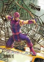 Ultra Spider-Man Gold Web Auto Autograph Caio Cacau #86 Hawkeye 19/49