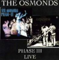 The Osmonds - Phase III  / Live [CD]