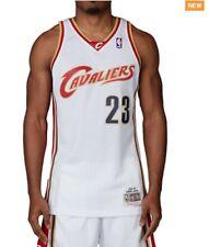 Lebron James #23 Cleveland Cavaliers Mitchell & Ness Mesh Swingman Jersey White
