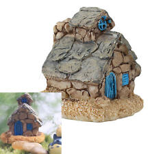 Hot Mini Resin Stone Country House Fairy Garden Craft Micro Landscape Home Decor