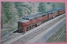 Lehigh Valley 611 Alco PA-1 Clark Township NJ in 1955 Train Postcard