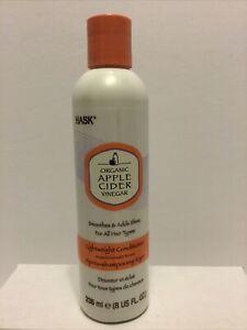 Hask Organic Apple Cider Vinegar Lightweight Conditioner 8 Oz for All Hair Types