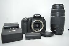 Canon EOS 60d 18Mp DSLR W/ 75-300mm f4-5.6 lens and Bag