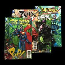 ACTION Comics #23.1 23.2 23.3 23.4 Lenticular 3D SET New 52 DC Villains NM!