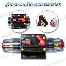 50 a Amp Car Audio Disyuntor AGU estilo fusibles Chapado En Oro