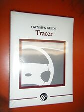 1997 Mercury Tracer Original Factory Operators Owners Manual