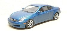 1/64 Kyosho NISSAN SKYLINE COUPE BLUE Infiniti G35 diecast car model