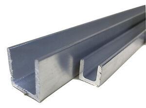 Aluminum U Profil Schiene Alu Walzblank T66 U-Profil Stange Aluprofil