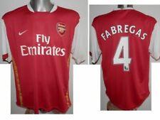 2006-08 FC Arsenal Londyn Fabregas #4 Home Football Shirt Soccer Jersey - XL