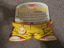 Melissa & Doug SMARTY PANTS - Preschool Card Set 120 Brain Building Cards
