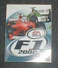 Formel 1 - F1 2000 von EA OVP. PC CDROM Spiel