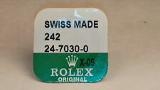 Rolex 24-7030-0 tube, gasket, WHITE, NEW, Sealed, for watch repair/parts