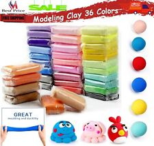 Modeling Air Dry Clay Magical Kids Creative DIY Crafts Dough Non Messy & Safe 36