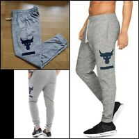 Under Armour Project Rock Terry Lightweight Joggers 1345820 Mens Size Medium UA