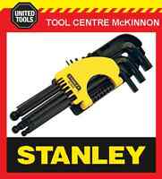 STANLEY 69-9000 9pce LONG ARM BALL POINT HEX / ALLEN KEY SET – METRIC