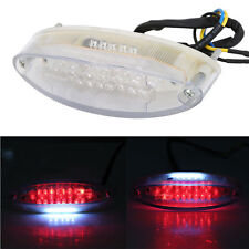 28/LED Motorcycle ATV Dirt Bike Brake Stop Running Tail Light Universal 12V Red