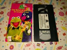 00002Efb Sesame Street - The Best of Kermit the Frog (Vhs, 1998) Acc