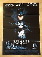 Filmposter * Kinoplakat * A1 * Batman 2 Batmans Rückkehr * 1992